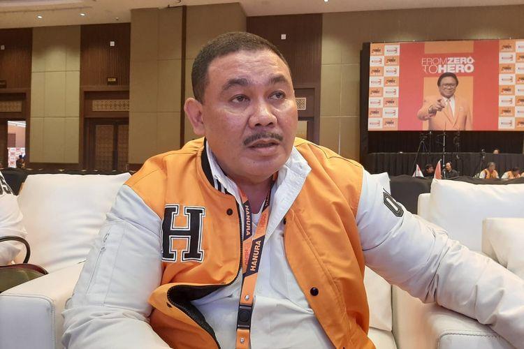 Ongen Sangaji di Hotel Sultan, Jakarta, Rabu (18/12/2019).