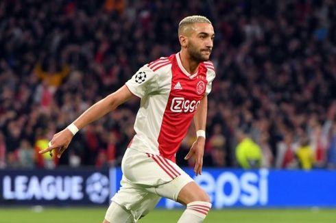 Chelsea dan Ajax Sama-sama Konfirmasi, Hakim Ziyech Berlabuh ke The Blues