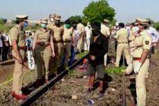 16 Pekerja Migran di India Tewas Terlindas Kereta Api Saat Pulang Kampung