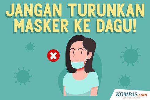 Satpol PP Juga Akan Tindak Warga yang Pakai Masker di Dagu