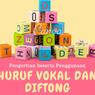 Pengertian Huruf Vokal dan Diftong beserta Penggunaannya