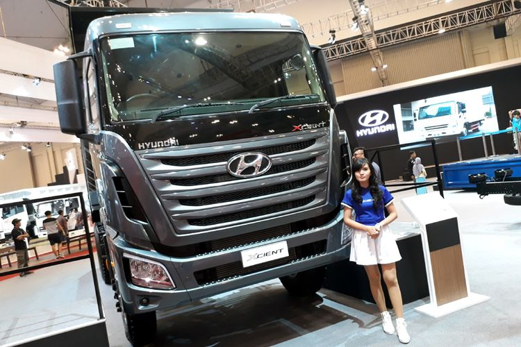 Hyundai Xcient, andalah HOKI di segmen tambang, kebun, dan infrastruktur.