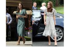 Inspirasi Tampilan Musim Panas ala Kate Middleton