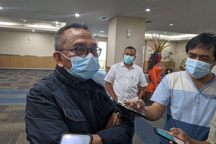 Wakil Ketua DPRD DKI Jakarta Mohamad Taufik saat ditemui di Lantai 10 Gedung DPRD DKI Jakarta, Selasa (8/12/2020)
