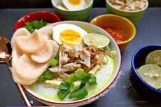Resep Bubur Ayam dari Nasi Sisa Semalam, Masak Pakai Magic Com