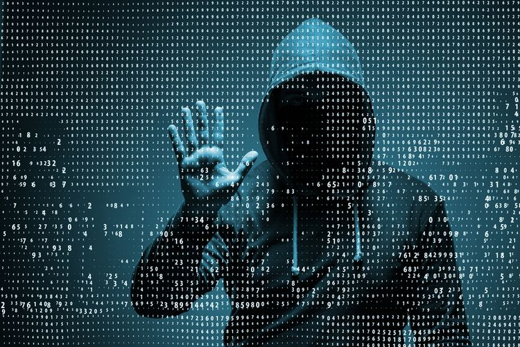Ilustrasi kejahatan digital, data pribadi, peretasan, peretasan digital, hacker