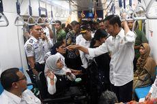 Saat Jokowi Mendapatkan Saran dari Penyandang Disabilitas soal Fasilitas di MRT...