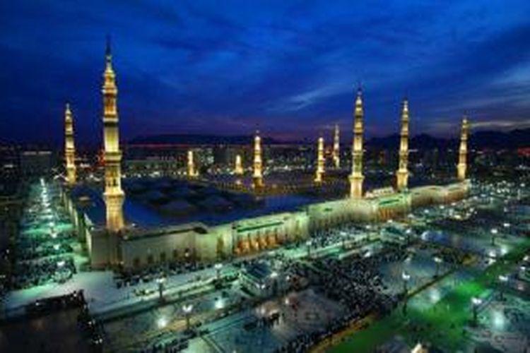 Arab Saudi akan mengembangkan kota baru seluas 83 juta meter persegi, dekat kota Mekkah dan Madinah.