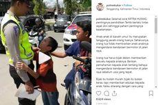 Viral Anak Peluk Polisi Setelah Dirazia Saat Bawa Motor, Ini Ceritanya