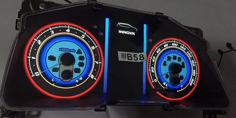 Modifikasi speedometer pada mobil