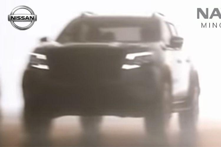 Siluet Nissan Navara terbaru