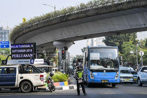 Sopir Angkot Rasakan Jalanan Lebih Lengang Saat Perluasan Ganjil Genap