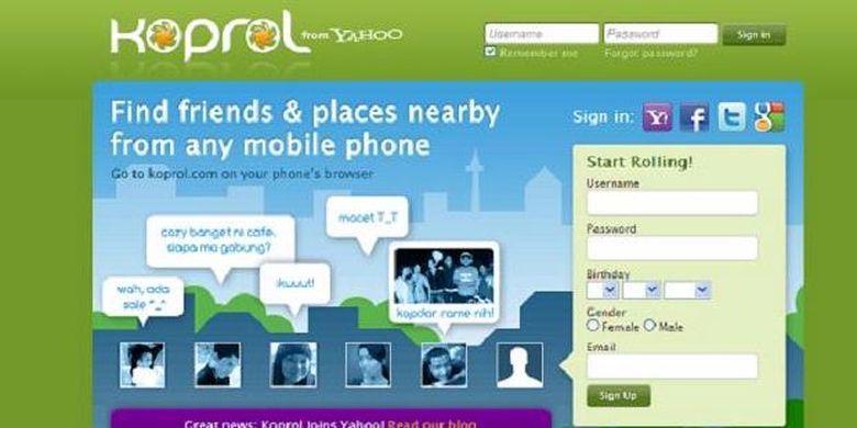 Ilustrasi Yahoo Koprol.