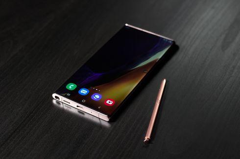 Punggung Galaxy Note 20 Berbahan Plastik, Ini Penjelasan Samsung