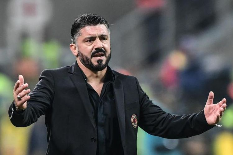 Gennaro Gattuso mengakui Lazio lebih pantas melaju ke partai puncak Coppa Italia, Kamis (254/2019).