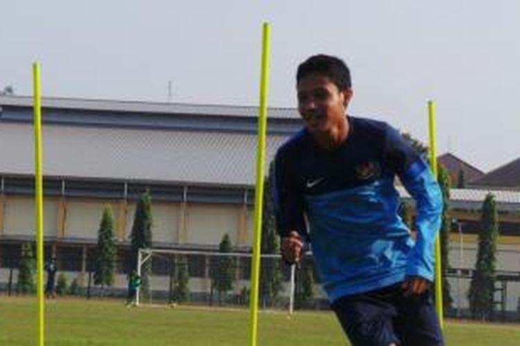 Kapten Tim Nasional Indonesia U-19, Evan Dimas.