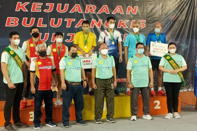 Edura Sport di bawah naungan Edura UNJ (Universitas Negeri Jakarta) menyelenggarakan UNJ Open 2021 yang digelar 17-19 September 2021.