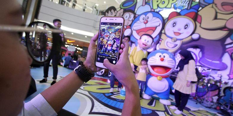 Doraemon Pop City digelar di AEON Mal BSD tanggal 12 Juni - 7 Juli 2019.