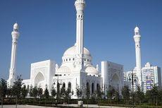 [POPULER PROPERTI] Masjid Mewah di Rusia Berubah Warna Saat Azan Berkumandang