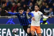 Atalanta Vs Valencia, La Dea Berpesta pada Laga Pertama Babak 16 Besar