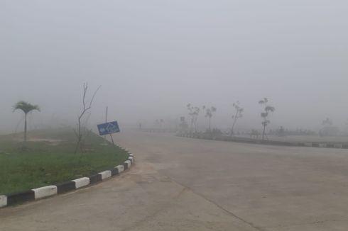 Menhub Bilang Kabut Asap di Riau Mulai Mereda
