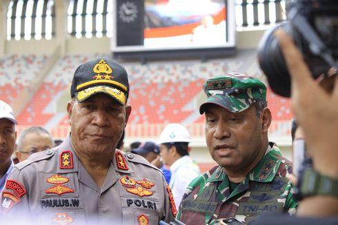 Polisi Sita 3 Koli Atribut Negara Republik Federal Papua Barat di Pegunungan Bintang