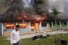 Siswa Iseng Bakar Sampah di Sekolah, 2 Laboratorium Ludes Terbakar