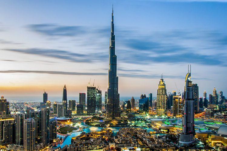 Kota Dubai di Negara Uni Emirat Arab.