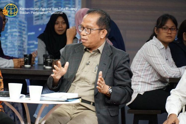 Direktur Sengketa Konflik Wilayah 1, Kementerian Agraria dan Tata Ruang/Badan Pertanahan Nasional (ATR/BPN), Supardy Marbun