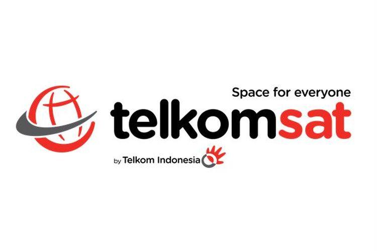 Logo Telkomsat.