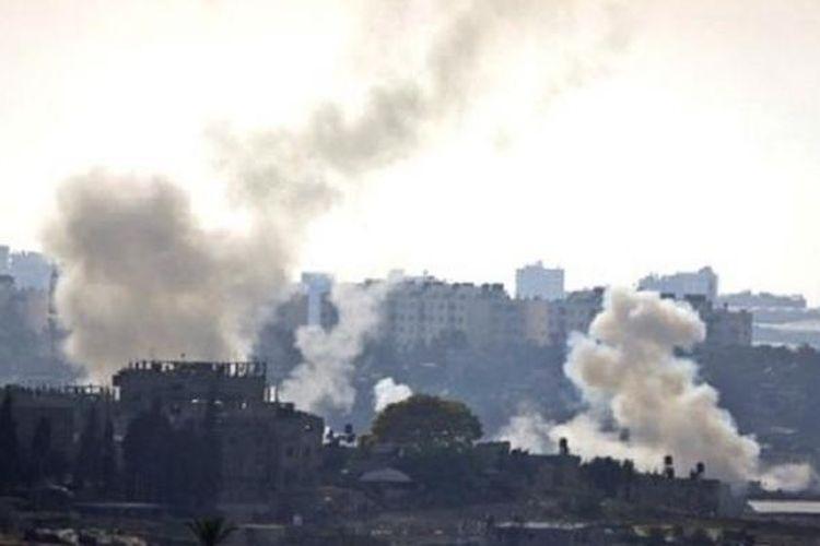 Hamas meluncurkan lebih dari 4.800 roket dalam konflik tahun lalu, menurut PBB.