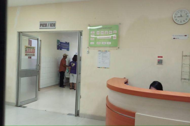 Ilustrasi ruang ICU RSUD Embung Fatimah Batam.