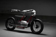Motor Bebek Honda Dirombak Jadi Cafe Racer untuk Tugas Akhir Kuliah