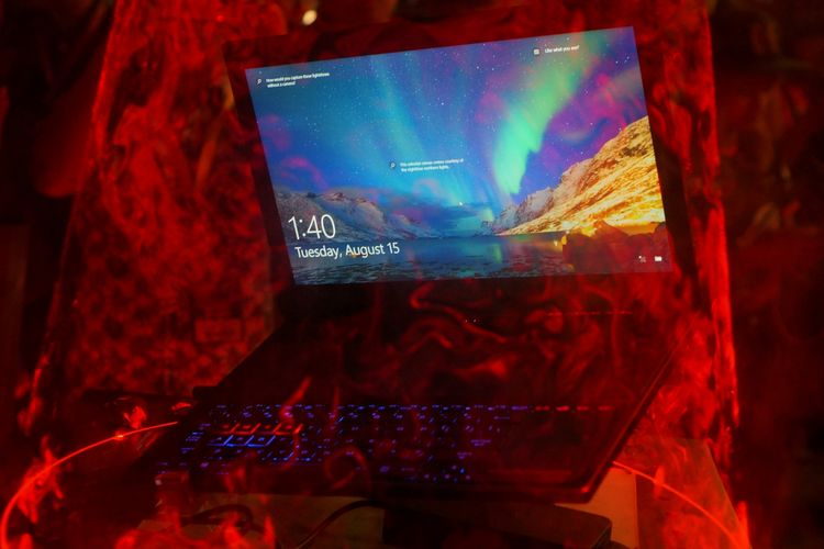 Asus ROG Zephyrous GX501 diklaim sebagai notebook gaming GTX 1080 tertipis di dunia.