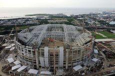 Melihat Progres Jakarta International Stadium