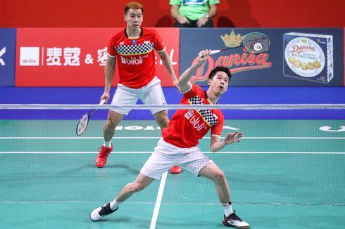 Link Live Streaming Final Fuzhou China Open, Selangkah Lagi Marcus/Kevin Pertahankan Gelar Juara