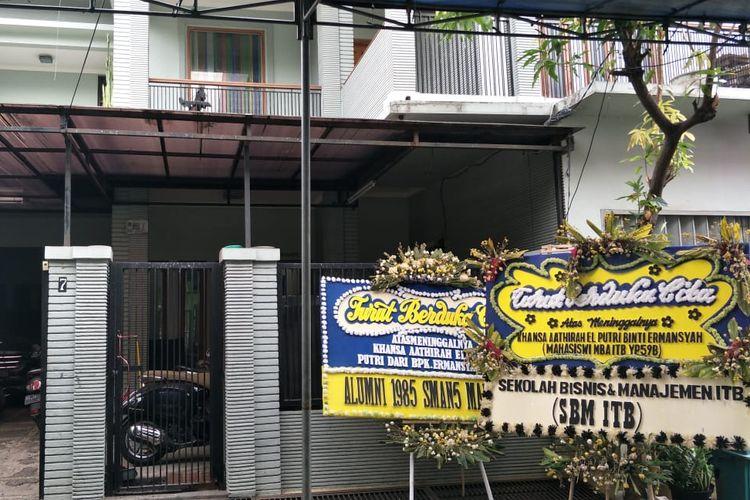 Rumah Khansa Aathira di Cempaka Putih, Jakarta Pusat, Jumat (13/9/2019).