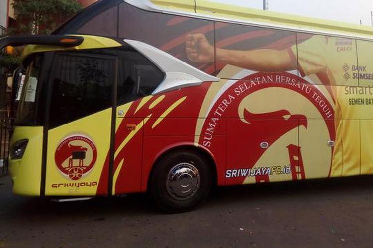 Bus klub sriwijaya fc