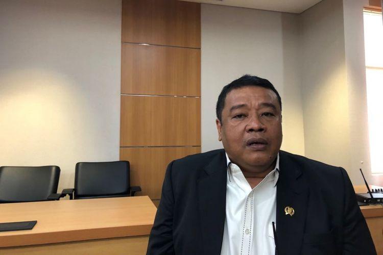 Ketua Fraksi Partai Nasdem DPRD DKI Bestari Barus di Gedung DPRD DKI, Jalan Kebon Sirih, Rabu (28/3/2018).