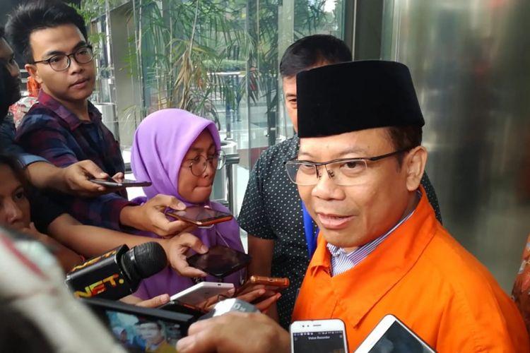 Wakil Ketua DPR Taufik Kurniawan di Gedung KPK, Jakarta, Rabu (21/11/2018)