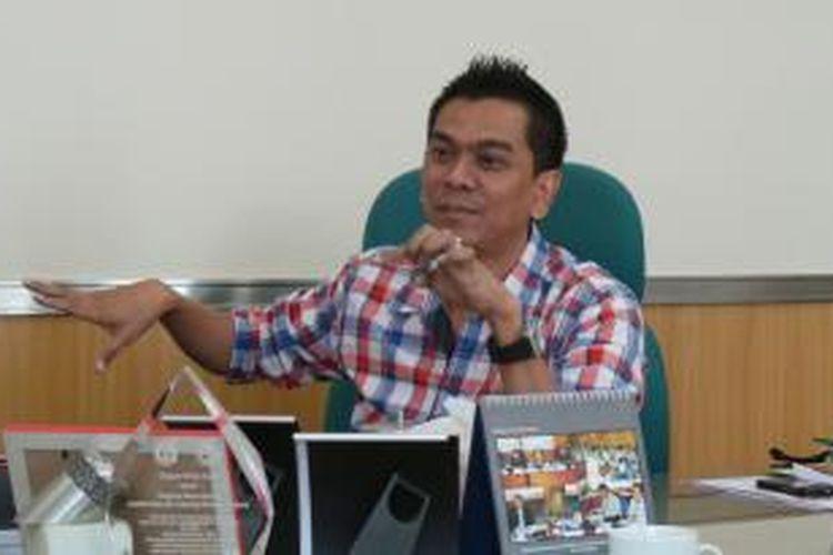 Ketua fraksi Partai Gerindra yang juga anggota Komisi D DPRD DKI, Mohamad Sanusi