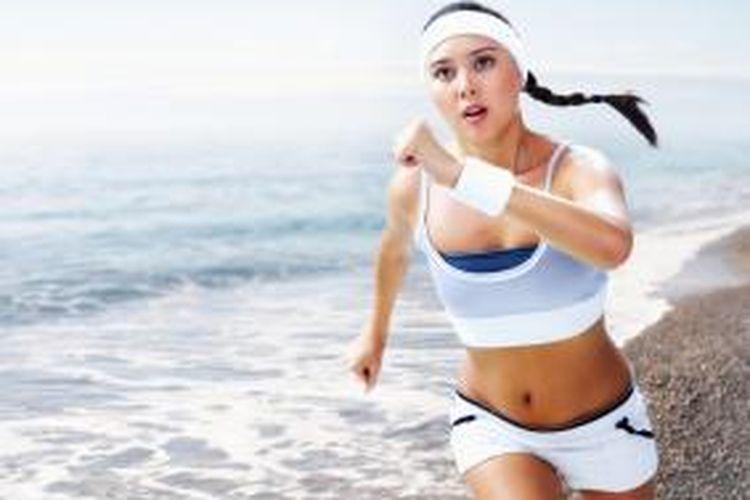 Berlari di udara terbuka meningkatkan semangat