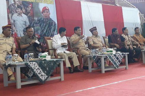 Prabowo Kenang Diajak Maraton 45 Km dengan Komandannya