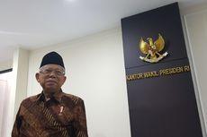 Pembelaan Ma'ruf Amin soal Kinerja Dinilai Lebih Rendah dari Menteri