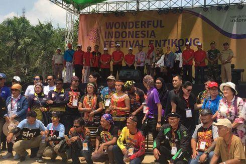 Tak Cuma Cita Citata, Cross Border Entikong Tampilkan Budaya Lokal