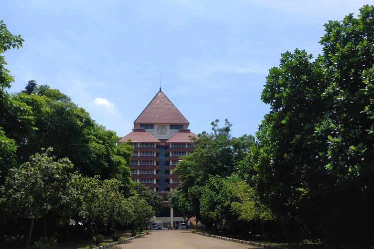 Gedung Rektorat Universitas Indonesia, Depok, Jawa Barat.