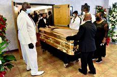 Disemayamkan di Peti Mati Emas, Pemakaman George Floyd Disiarkan Langsung