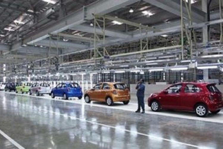 Pabrik perakitan mobil milik Indomobil