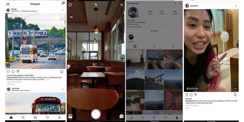 Instagram Lite versi terbaru yang muncul kembali setelah hilang di Play Store bulan Mei lalu.