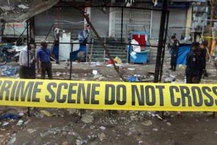 Kepolisian India mengatakan mereka sudah diberitahu soal rencana serangan bom di Hyderabad ini saat menginterogasi dua anggota kelompok militan Mujahidin India tahun lalu.